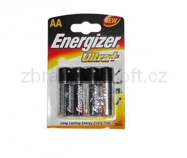 Baterie Ostatní - Baterie AA Energizer set 4ks