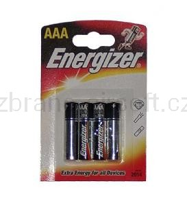 Baterie Ostatní - Baterie AAA Energizer set 4ks