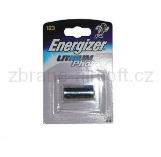 Baterie Ostatní - Baterie Energizer CR123A