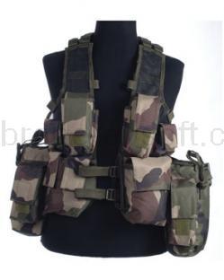 Army shop Taktické vesty - Taktická vesta 12 Francouzká