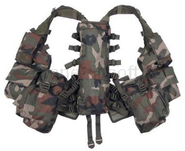 Army shop Taktické vesty - Taktická vesta 12 Woodland