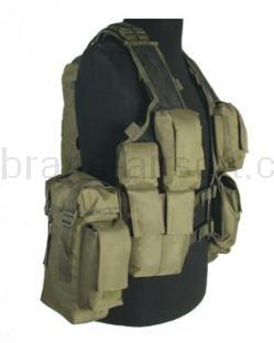 Army shop Taktické vesty - Taktická vesta 12 zelená