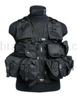 Army shop Taktické vesty - Taktická vesta 9 černá
