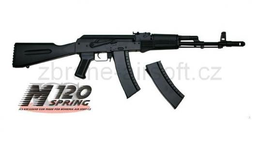 zbraně ICS - ICS AK-74 Black - upgrade