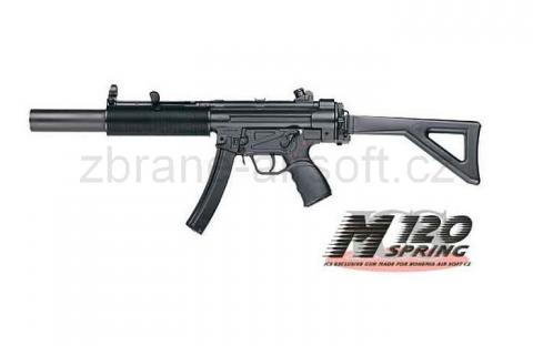 zbraně ICS - ICS SMG5 SD1 Folding Stock - upgrade
