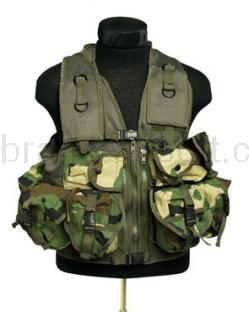 Army shop Taktické vesty - Taktická vesta 9 Woodland