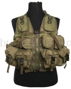 Army shop Taktické vesty - Taktická vesta 9 zelená