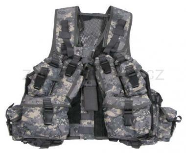 Army shop Taktické vesty - Taktická vesta kanadská ACU