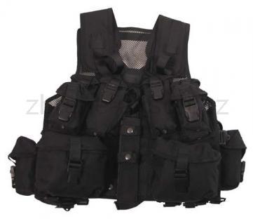 Army shop Taktické vesty - Taktická vesta kanadská černá
