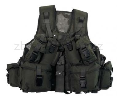 Army shop Taktické vesty - Taktická vesta kanadská zelená