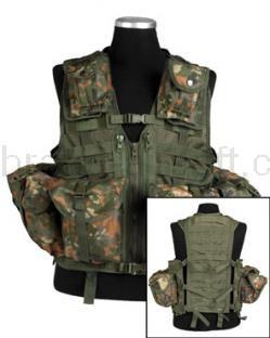 Army shop Taktické vesty - Taktická vesta MOLLE 8 BW