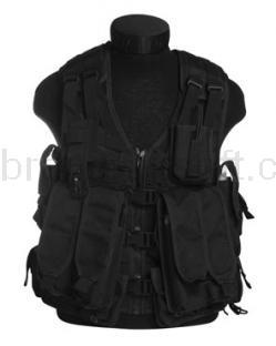 Army shop Taktické vesty - Taktická vesta MOLLE AK černá