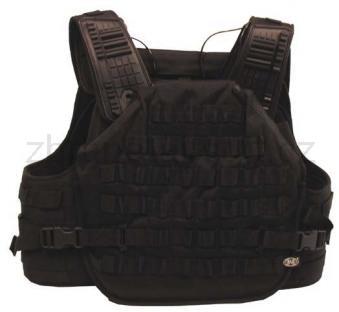Army shop Taktické vesty - Taktická vesta Molle Armor černá