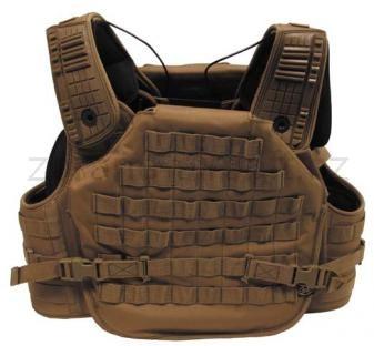 Army shop Taktické vesty - Taktická vesta Molle Armor písková