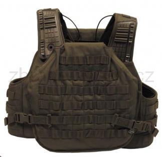 Army shop Taktické vesty - Taktická vesta Molle Armor zelená