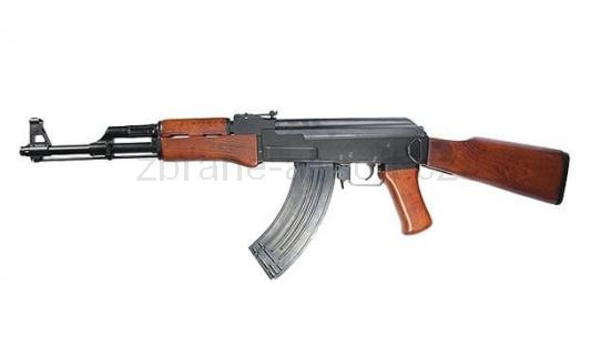 zbraně SRC - AK-47 kov dřevo gen. III