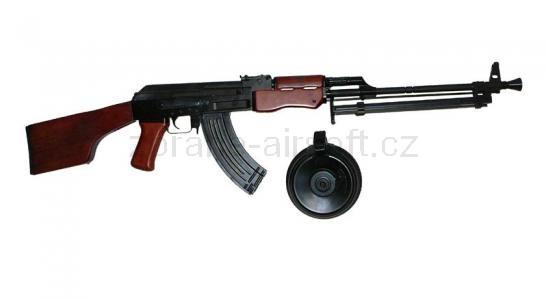 zbraně SRC - AK-47 RPK kov dřevo gen. III