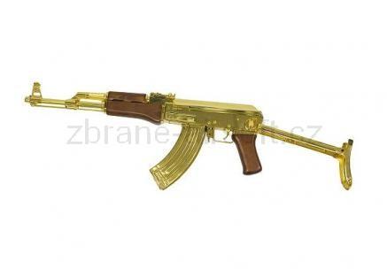 zbraně SRC - AK-47C kov gold gen. II + kufr