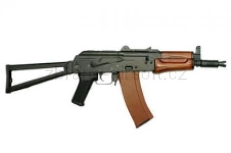 zbraně SRC - AKS-74U kov dřevo gen. III