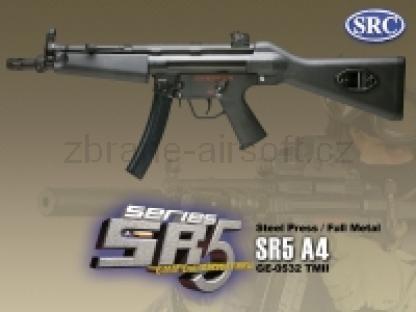 zbraně SRC - SR5 A4 kov gen. II