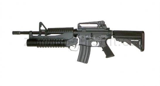 zbraně G and ;P - GM4A1 Crane Stock + M203