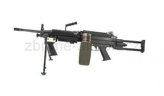 zbraně G and ;P - M249  RANGER