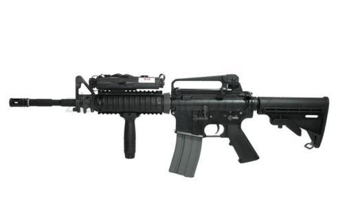 zbraně Classic Army - CA Armalite M15A4 R.I.S. Carbine BlowBack
