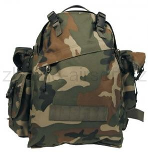 Army shop Batohy a tašky - Batoh Combo 40l woodland