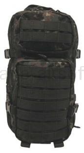 Army shop Batohy a tašky - Batoh MFH US ASSAULT PACK flecktarn 30l