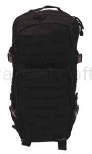 Army shop Batohy a tašky - Batoh MFH US ASSAULT PACK černý 30l