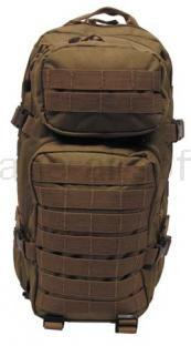 Army shop Batohy a tašky - Batoh MFH US ASSAULT PACK coyote tan 30l