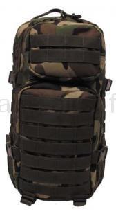 Army shop Batohy a tašky - Batoh MFH US ASSAULT PACK woodland 30l