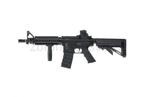 zbraně ICS plastic - ICS M4 A1 CQB R.I.S. Crane Stock - Plastic