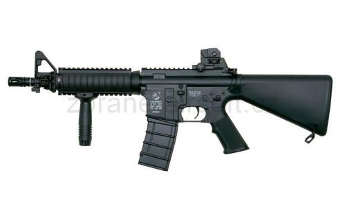 zbraně ICS plastic - ICS M4 A1 CQB R.I.S. Short Stock - Plastic