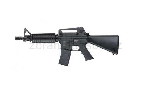 zbraně ICS plastic - ICS M4 A1 CQB Short Stock- Plastic