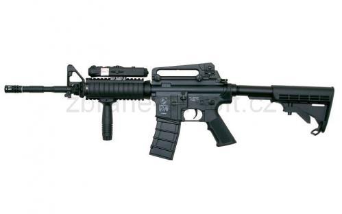 zbraně ICS plastic - ICS M4 A1 R.I.S. - Plastic