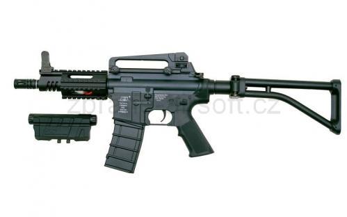 zbraně ICS plastic - ICS M44 CQB Folding Stock - Plastic