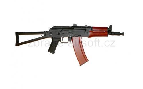 zbraně CyberGun - CYBG - AKS74U AEG celokov+ dřevo