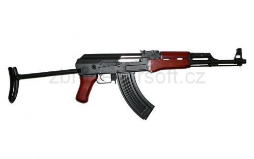 zbraně Warrior - Warrior W47S celokov dřevo UPG.