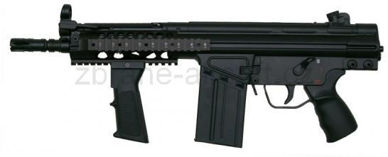 zbraně Warrior - Warrior W51 short R.I.S.