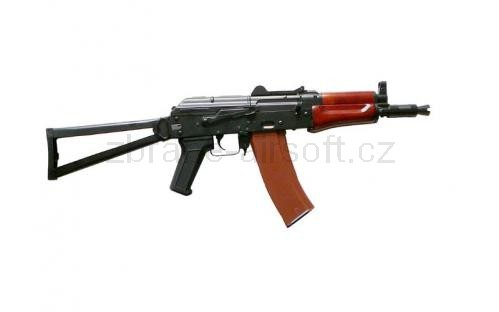 zbraně SRC - AKS-74U kov dřevo gen. II + kufr