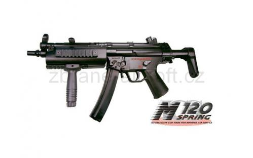 zbraně ICS - ICS SMG5 A5 R.I.S. - upgrade