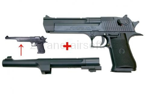 pistole CyberGun - Desert Eagle .50AE + dlouhá hlaveň