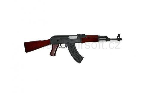 zbraně CyberGun - CYBG AEG AK-47 Kalashnikov celokov + dřevo