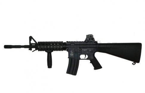 zbraně CyberGun - CYBG AEG Colt M4 Tactical R.I.S. celokov
