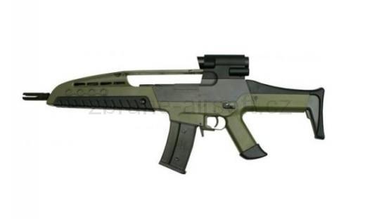 zbraně SRC - SRC XR8-2 green gen. II