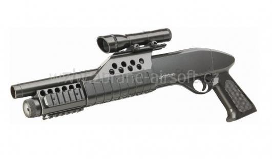brokovnice Warrior - Warrior shotgun MK.II RIS