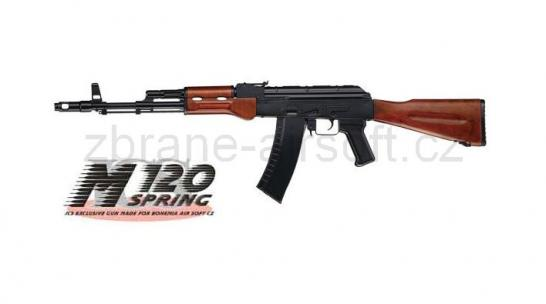 zbraně ICS - ICS AK-74 Wood - upgrade