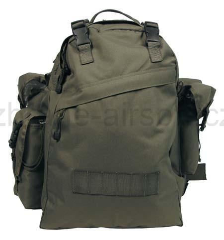 32b6c4a8e Army shop Batohy a tašky - Mil-Tec - Batoh Combo 40l olivový