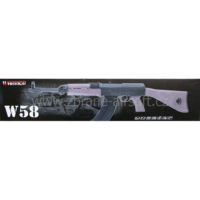 manuální Warrior - Warrior W58